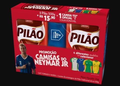 Una promoción de Neymar con Cafés Pilão
