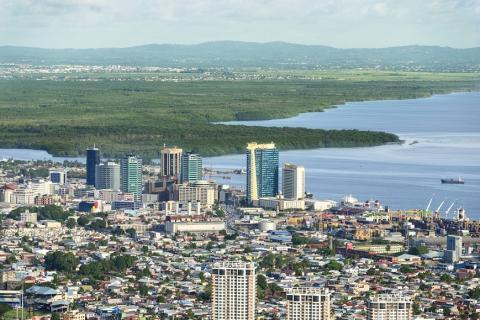 Puerto España, en Trinidad y Tobago
