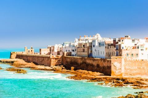 Puerto de Essaouira, en Marruecos