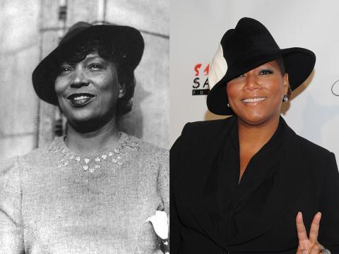 Queen Latifah y Zora Neale Hurston tenían el mismo gusto para los sombreros, ¿coincidencia?