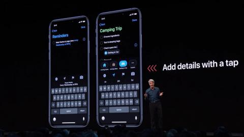 6. The overhauled Reminders app!