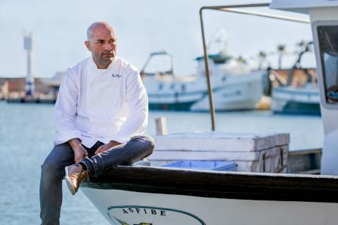 El chef Raúl Resino, dueño del restaurante de una Estrella Michelín Raúl Resino
