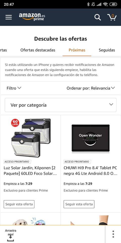 Seguir esta oferta Amazon
