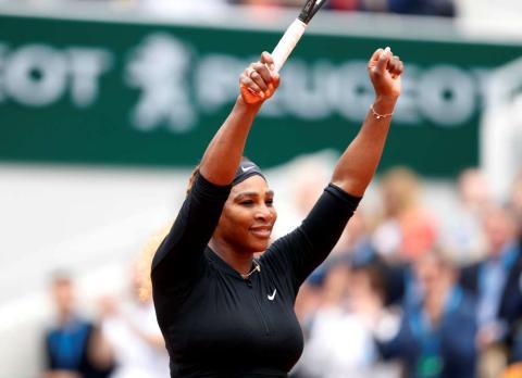 Serena Williams es la única mujer en la lista de Forbes.