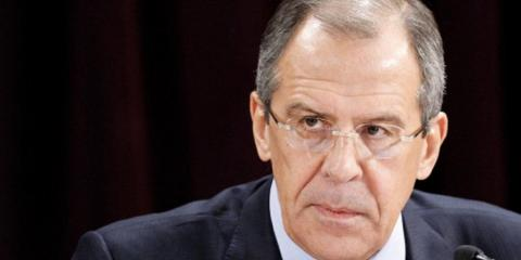 Sergey Lavrov, Russia's foreign minister.