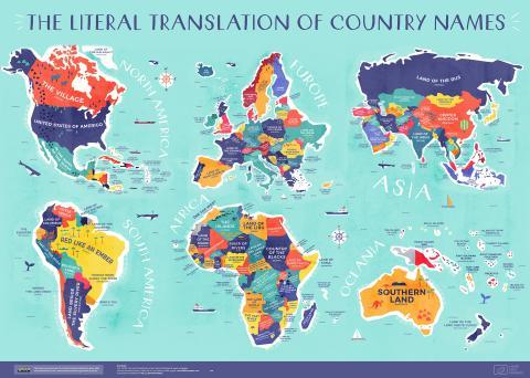 Significado nombre de los países
