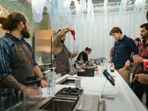 Un recorrido por el nuevo laboratorio de innovación de Starbucks
