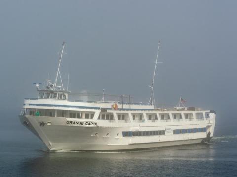 The Grande Caribe cruise ship.