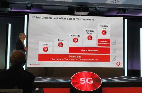 Tarifas Vodafone 5G.
