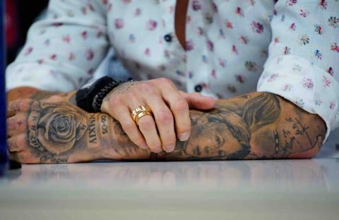 Tatuajes Sergio Ramos.