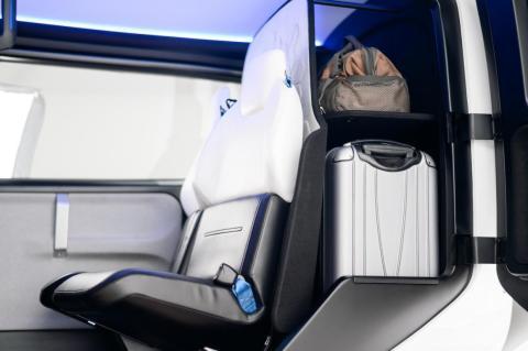 Habrá espacio para equipaje, además del de los pasajeros.