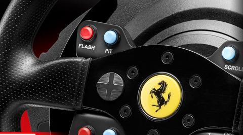 Thrustmaster Ferrari volante PS4