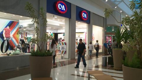 Una tienda de la cadena C&A en Brasil