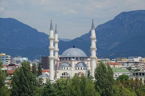 Gran mezquita de Tirana