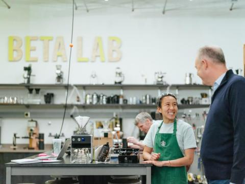 The Tryer Center is just one way Starbucks is pushing for new types of innovation faster than ever before. Earlier this year, the company announced a $100 million investment in Valor Siren Ventures, a new fund focused on food and