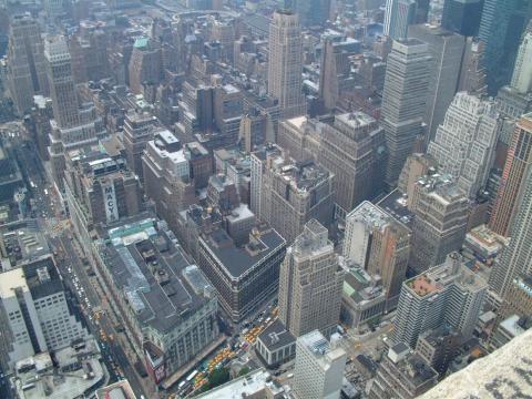 Lo que muchos turistas no saben es que los edificios del Midtown Manhattan, que ves en esta imagen, no son tan impresionantes.