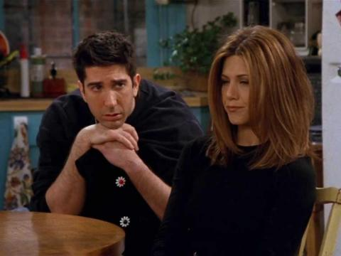 Ross and Rachel oftentimes focused more on winning arguments than they did on their true feelings.