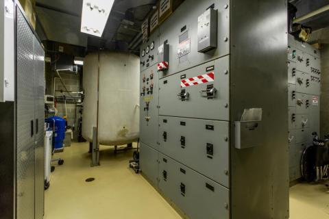 xPoint tiene sus propios sistemas eléctricos y de agua, por lo que los residentes pueden sobrevivir durante al menos un año sin tener que salir al exterior.