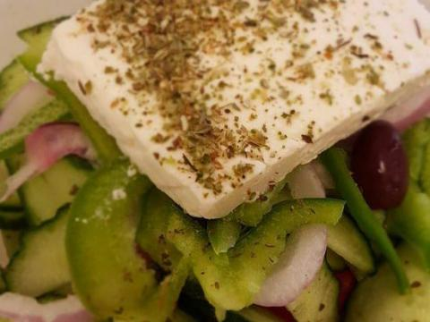 You can get an authentic Greek salad in Sparta's IKEA food court.