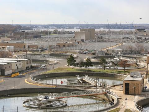12. Sewage treatment facilities had a 9% decline in employment between 2013 and 2018. 82.5% of workers in the industry in 2018 were men.