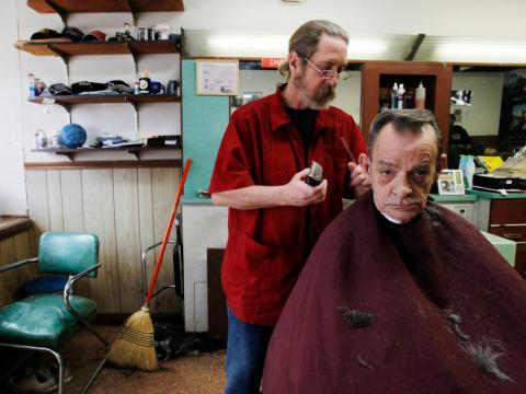 15. Barber shops had an 8% decline in employment between 2013 and 2018. 76.2% of workers in the industry in 2018 were men.