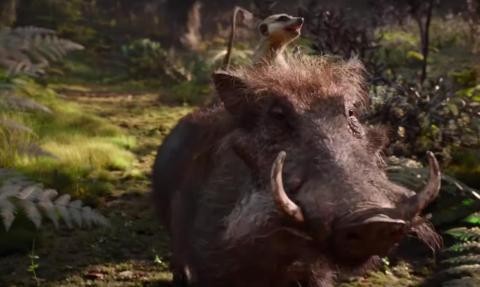 Timón y Pumba cantan más de este clásico en el remake.