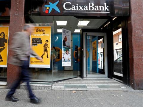 Caixa Bank in Barcelona