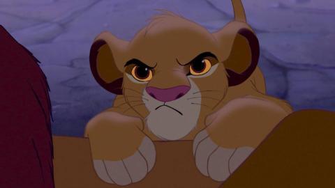 Si Simba me mirara así, también me sentiría culpable por no levantarme.