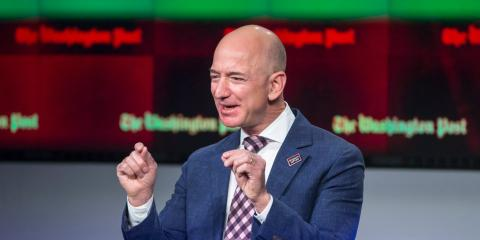 ElCEO de Amazon Jeff Bezos.
