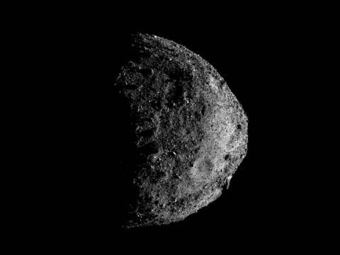 El asteroide Bennu en una imagen capturada por el generador de imágenes MapCam de OSIRIS-REx, el pasado 17 de diciembre.
