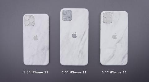 We're expecting three new versions of the iPhone 11, including an iPhone 11, an iPhone 11 Max, and an iPhone 11R — a successor to last year's iPhone XR.