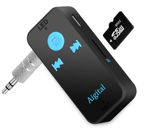 Adaptador Audio Bluetooth