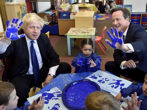 En agosto de 2014, Boris anunció que se presentaría a las próximas elecciones generales.