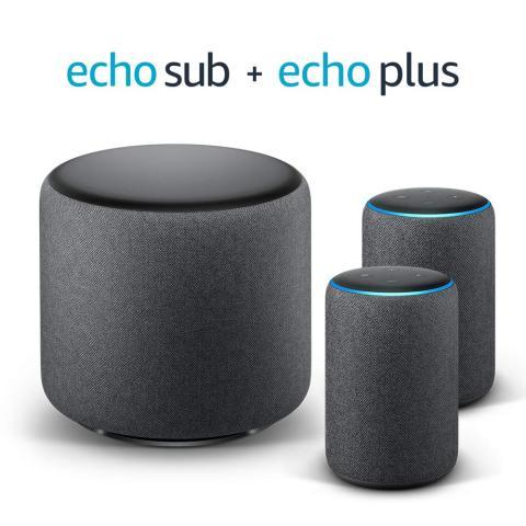 Amazon Echo Sub y Echo Plus
