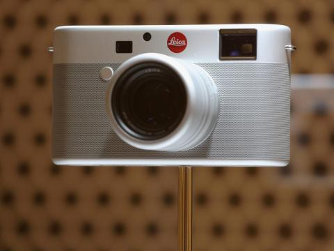 And this Leica camera, which sold for $1.8 million.