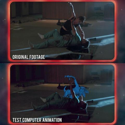 Vídeo mostrado en el episodio siete de Más allá de Stranger Things.