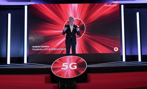 Antonio Coimbra, presidente y CEO de Vodafone España.