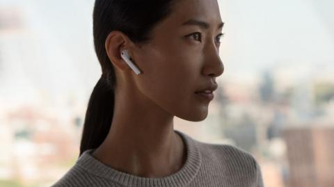 """Apple's AirPods 2 and """"new"""" iPod."""