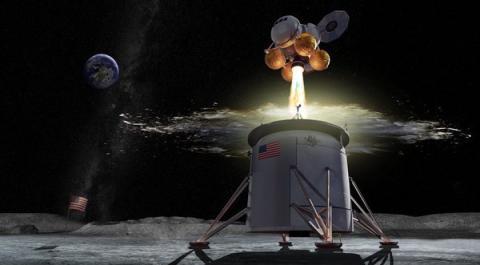 Aterrizaje lunar