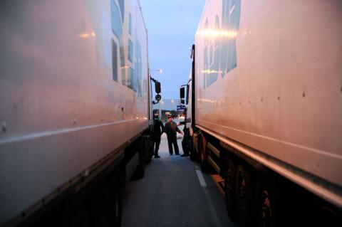 The average professional long-haul trucker logs more than 100,000 miles per year