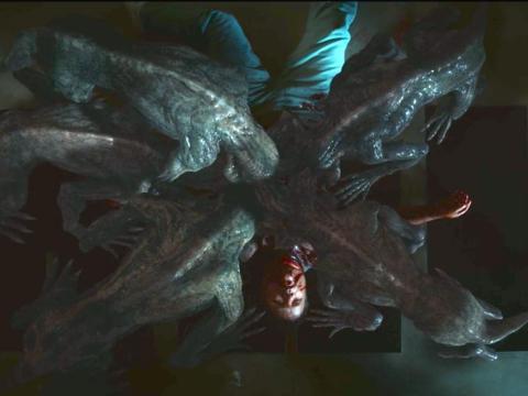 Bob (Sean Astin) was killed by the Demodogs in Hawkins Lab.