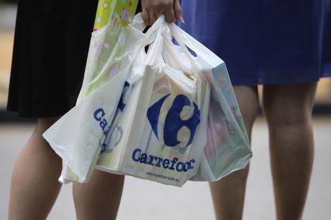 Bolsa plástico Carrefour