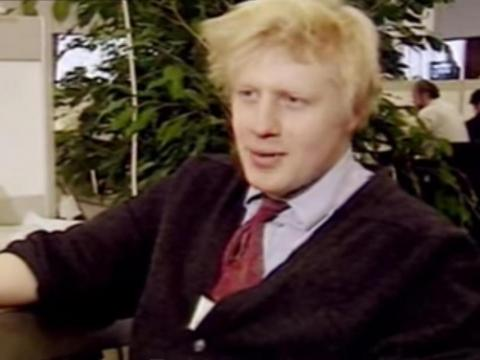 Boris Johnson de periodista