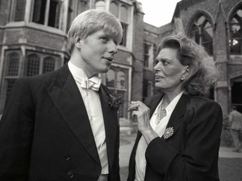 Boris Johnson de presidente de la Oxford Union