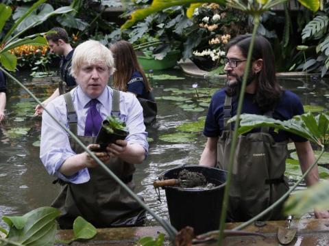 Boris siempre ha mantenido un perfil mediático constante