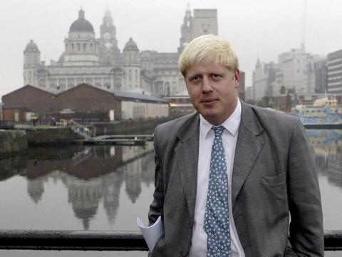 Boris se vio visto en un escándalo en sus primeros años