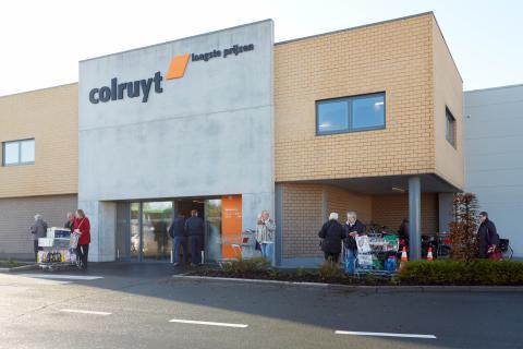 La cadena de supermercados Colruyt es líder en Bélgica