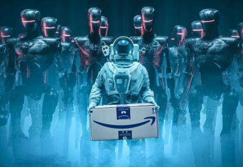 Cajas de productos extraños Amazon