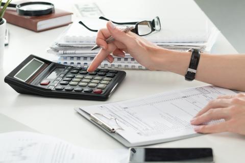 Calculadora de finanzas personales