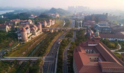 Campus de Huawei en Dongguan.